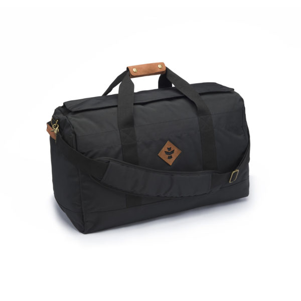 The Around Towner Black Medium Duffle Bag by Revelry Supply UK