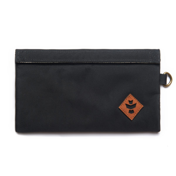 The Confidant Small Black Money Bag by Revelry Supply UK