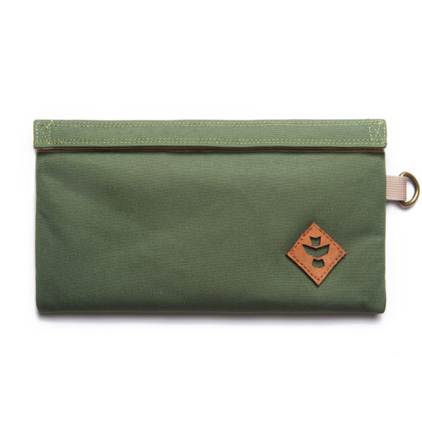 The Confidant Small Green Money Bag by Revelry Supply UK
