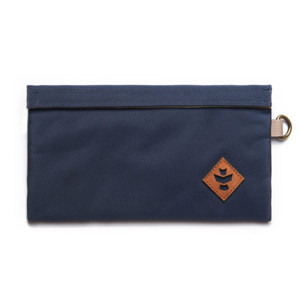 The Confidant Small Navy Blue Money Bag by Revelry Supply UK