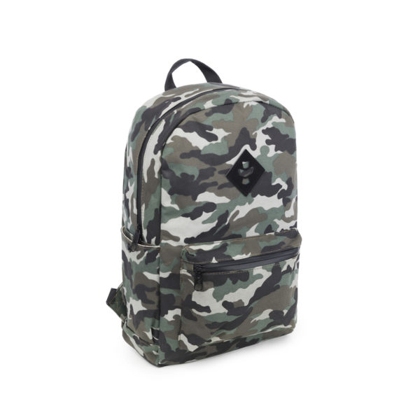 The Escort Black Camo Backpack Bag by Revelry Supply UK