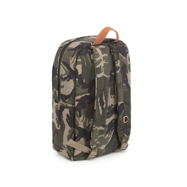 The Escort Brown Camo Backpack Bag by Revelry Supply UK