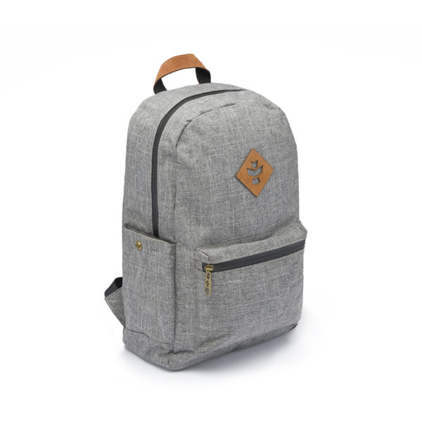 The Escort Crosshatch Grey Backpack Bag by Revelry Supply UK