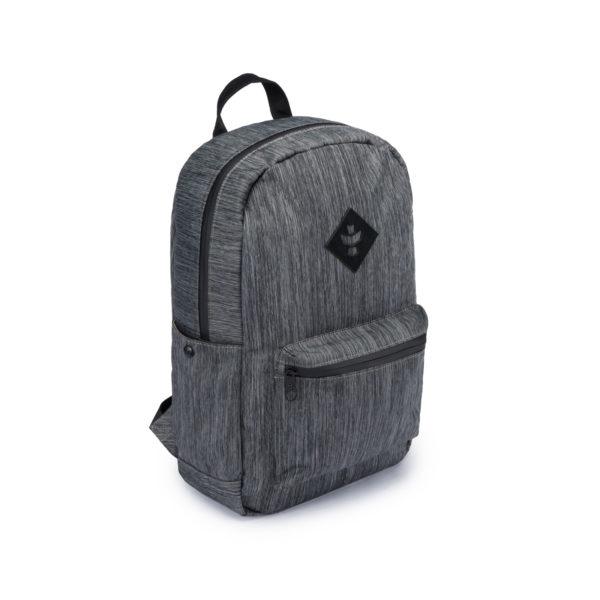 The Escort Striped Dark Grey Backpack Bag by Revelry Supply UK