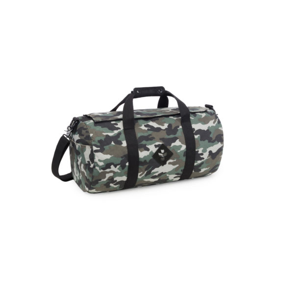 The Overnighter Small Black Camo Duffle Bag by Revelry Supply UK