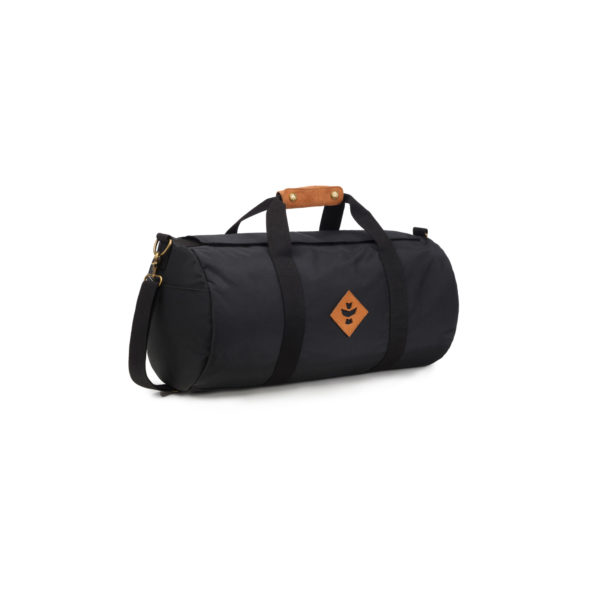 The Overnighter Small Black Duffle Bag by Revelry Supply UK