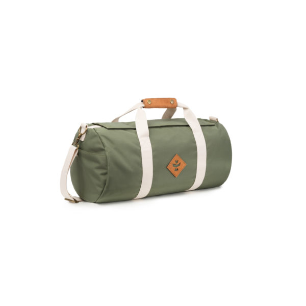 The Overnighter Small Green Duffle Bag by Revelry Supply UK