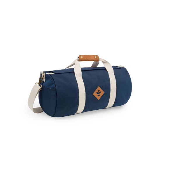 The Overnighter Small Navy Blue Duffle Bag by Revelry Supply UK